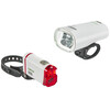 Litecco Highlux.30 + Facil Cykellygter sæt hvid